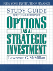 Study Guide for the 4th Edition of Options as a Strategic Investment: Fourth Edition Cover Image