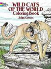 Wild Cats of the World Coloring Book (Dover Nature Coloring Book) Cover Image