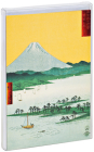 Hiroshige Big Notecard Set with Bright Foil Accents, Our Best Cards Cover Image
