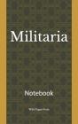 Militaria: Notebook Cover Image