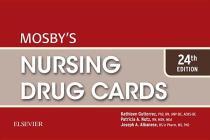 Mosby's Nursing Drug Cards Cover Image