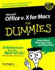 Microsoft Office V.10 for Macs for Dummies Cover Image