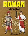 Roman Coloring Book Cover Image