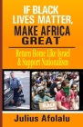 If Black Lives Matter, Make Africa Great: Return Home Like Israel and Support Nationalism Cover Image