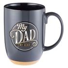 Mug Ceramic My Dad, My Hero Cover Image