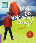 Why Do Volcanoes Erupt? Level 4 Factbook (Cambridge Young Readers) Cover Image