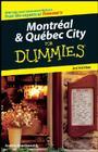 Montréal & Québec City For Dummies Cover Image