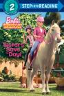 Sisters Save the Day! (Barbie) (Step into Reading) Cover Image