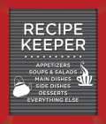 Small Recipe Binder - Recipe Keeper (Letterboard) Cover Image