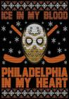 Ice In My Blood Philadelphia In My Heart: Hockey Notebook & Personal Stats Tracker 100 Games Cover Image