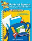 Parts of Speech Grades 2-3 (Language Arts) Cover Image