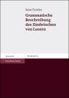 Grammatische Beschreibung Des Zimbrischen Von Lusern Cover Image