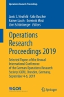 Operations Research Proceedings 2019: Selected Papers of the Annual International Conference of the German Operations Research Society (Gor), Dresden, Cover Image