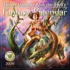 Boris Vallejo & Julie Bell's Fantasy Wall Calendar 2020 Cover Image