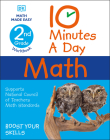 10 Minutes a Day Math, 2nd Grade Cover Image