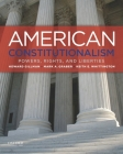 American Constitutionalism: Powers, Rights, and Liberties Cover Image