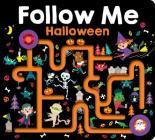 Maze Book: Follow Me Halloween (Finger Mazes) Cover Image