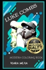 Luke Combs Modern Coloring Book Cover Image