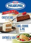 Kraft Philadelphia 3 Books in 1 Cookbook Cover Image