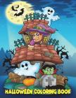Halloween Coloring Book: For Kids Ages 4-8, 8-12 Cover Image