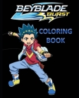BEYBLADE BURST Coloring Book Cover Image