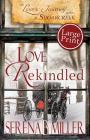 Love's Journey in Sugarcreek: Love Rekindled - Large Print Cover Image