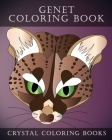 Genet Coloring Book: 30 Hand Drawn Genet Coloring Pages. A great Gift For Animal Lovers Or Anyone That Loves Coloring. Cover Image