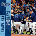 Tampa Bay Rays 2021 12x12 Team Wall Calendar Cover Image