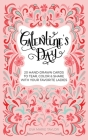 Galentine's Day: 20 Hand-Drawn Cards to Tear, Color and Share with Your Favorite Ladies Cover Image