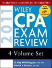 Wiley CPA Exam Review 2011, 4-Volume Set Cover Image