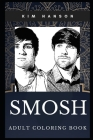 Smosh Adult Coloring Book: Legendary YouTube Comedy Geniuses and TV Stars Inspired Coloring Book for Adults Cover Image