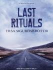 Last Rituals: A Novel of Suspense (Thora Gudmundsdottir #1) Cover Image