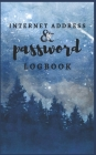 Password Logbook: Winter Night Internet Password Organizer: Internet Password Logbook To Protect usernames; Keep track of: usernames, pa Cover Image