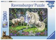 Mystical Unicorns 200 PC Puzzl Cover Image
