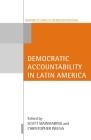 Democratic Accountability in Latin America (Oxford Studies in Democratization) Cover Image