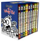 Diary of a Wimpy Kid Box of Books 1-8 + The Do-It-Yourself Book Cover Image