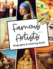 Famous Artists Biography and Coloring Book: Volume 2 Cover Image