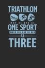 Triathlon: Triathlon Notebook, Blank Lined (6