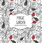 Magic Garden: Fantastic Flowers Coloring Book for Adults Cover Image