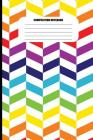 Composition Notebook: 3D Effect in Rainbow Colors (100 Pages, College Ruled) Cover Image