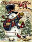 Adult Coloring Books Christmas Fun 47 Grayscale Coloring Pages: Beautiful grayscale images of Winter Christmas holiday scenes, Santa, reindeer, elves, Cover Image