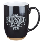 Mug Ceramic Blessed Man Cover Image