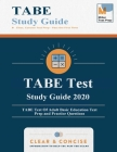 TABE Test Study Guide 2020: TABE Test Of Adult Basic Education Test Prep and Practice Questions Cover Image