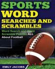 Sports Word Searches and Scrambles Cover Image