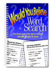 Would You Believe Word Search Cover Image