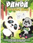 Panda Coloring Book: Funny Coloring Pages for Toddlers Who Love Cute Pandas, Gift for Boys and Girls Ages 2-6 Cover Image