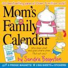 Mom's Family Wall Calendar 2017 Cover Image