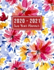 2020-2021 Two Year Planner: 2020-2021 see it bigger planner - 24 Months Agenda Planner with Holiday from Jan 2020 - Dec 2021 Large size 8.5 x 11 2 Cover Image