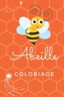 Coloriage abeille Cover Image