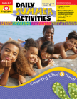 Daily Summer ACT Moving 6th to 7th Grade (Daily Summer Activities) Cover Image